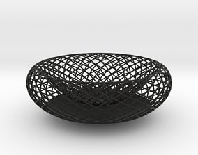 3D printable model Wiry Bowl