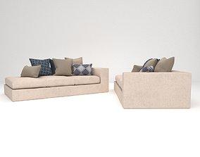 3D Cubic sofa