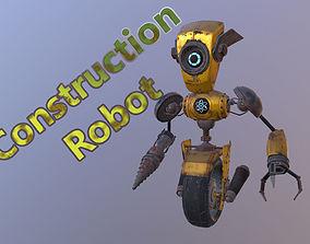Construction Robot 3D model