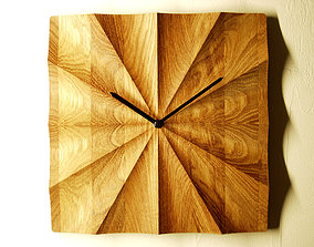 Wall clock 3d model for CNC router P4-002