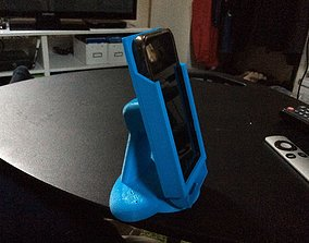 Dual Mode iPhone 5 and 5S Desktop Mount 3D printable model