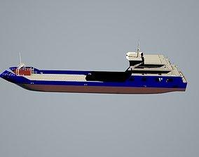 3D Ro-Ro cargo ship