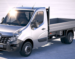 3D Renault Master van 2017   CGTrader