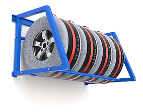 Spare Car Tyre Wheel Storage and Carry Bag Cover 3D model