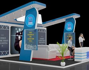 3D model Exhibition stall trade