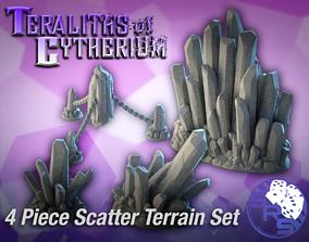 Crystal Scatter Terrain Set 3D printable model