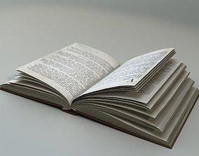 3D model low-poly A Book Z