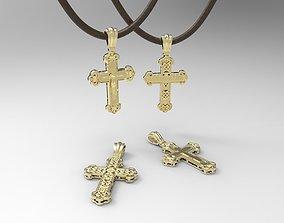 3D printable model Layered Orthodox Cross