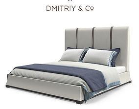 Dmitryco Como Capri Bed 3D