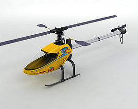 3D asset Viper 90 RC Remote Controlled Helicopter