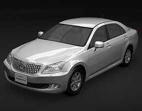 luxury 3D 2009 Toyota Crown Majesta