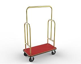 Hotel Trolley 10 3D model