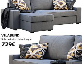 3D model Ikea Vilasund sofa