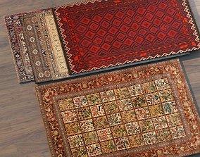Persian Rug Set 01 3D asset