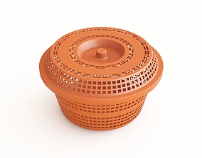 3D model Plastic basket 17