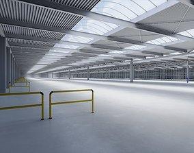 3D model Industrial Warehouse Interior 1