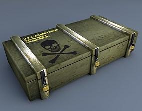 RPG Military Case 3D model