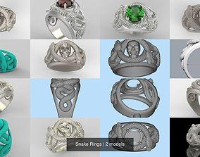 Snake Rings 3D