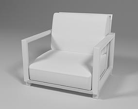 3D model Modern Patio Arm Chair