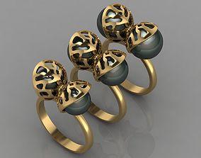 sterling 3D print model ring 111
