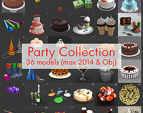 Party props and cake model collection