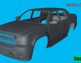 3D printable model Chevrolet Avalanche