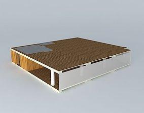 3D model Lobby Zemoga
