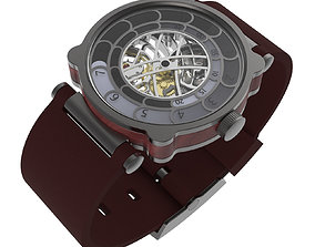 Woodchip Rise 2 Watch 3D model