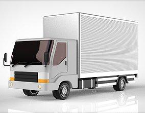heavy industry truck 3D model