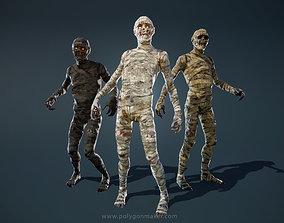 3D model Monsters - Mummy