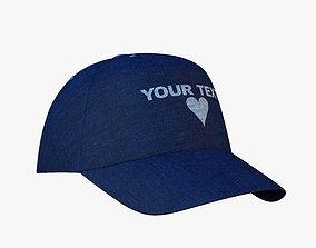 cap hat 3D model