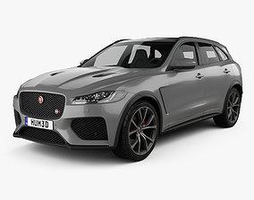 Jaguar F-Pace SVR 2018 3D