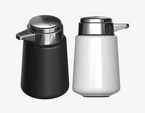 Soap Dispenser 001 3D asset