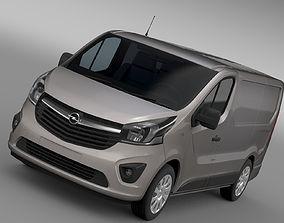 Opel Vivaro Van 2017 3D