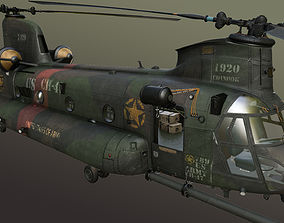 Chinook MH-47 3D