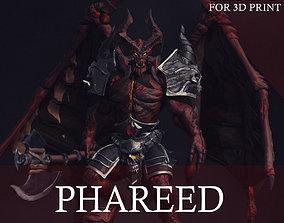 Demon Statue for 3D Print