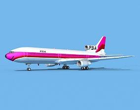 Lockheed L-1011 PSA 3D
