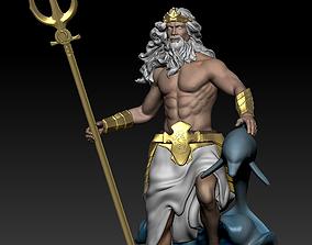 3D print model Poseidon