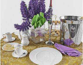 Set Dinner Table 2 3D model