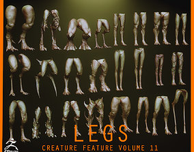 LEGS - 33 Character and Creature Insert meshes 3D model