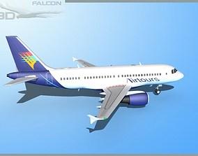 Falcon3D A319 Air Tours rigged