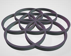 GEOMETRIA SAGRADA SEMILLA DE LA VIDA 3D print model
