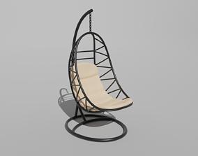 3D colgante Egg chair