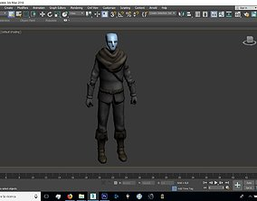 3D asset Human Male Chainmail Armor