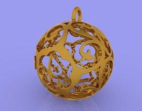3D print model Sphere Pendant