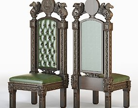 Gothic Throne 3D model
