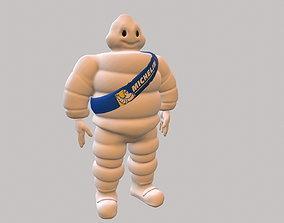 Michelin man 3D model