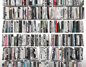 Books 300 pieces 3D