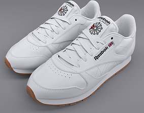 Reebok Classic Leather White Gum PBR 3D