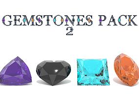 3D model Gemstones PACK 2